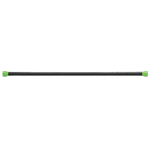 Image of 12LB Green Padded Weight Bar - Fitness Gear