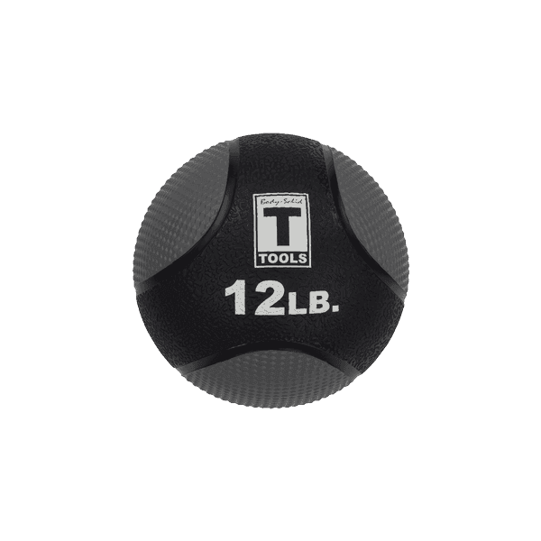 66df2c252c8e0 Buy 12lb. Medicine Ball - Black/Grey at FitnessGearUSA.Com for only ...