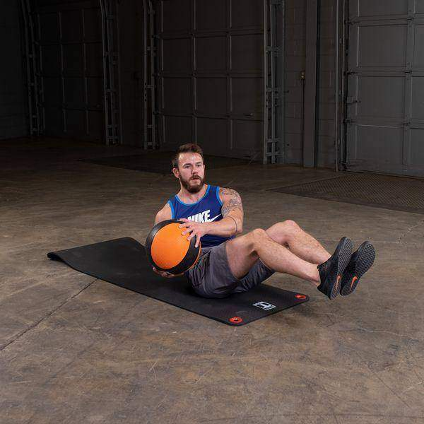 14lb. Medicine Ball - Orange/Black - Fitness Gear