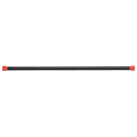 Image of 15LB Red Padded Weighted Bar - Fitness Gear
