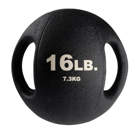 Image of 16lb. Dual Grip Medicine Ball - Fitness Gear
