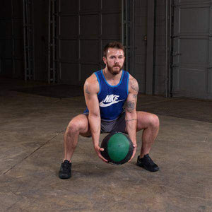 16lb. Medicine Ball - Green/Black - Fitness Gear