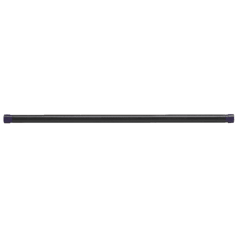 Image of 24LB Dark Purple Padded Weighted Bar - Fitness Gear
