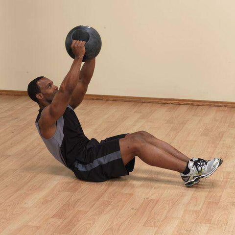 Image of 25lb. Dual Grip Medicine Ball - Fitness Gear