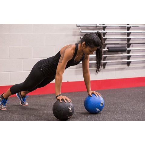 Image of 25lb. Medicine Ball - Black - Fitness Gear
