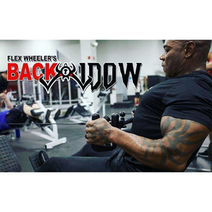 Flex Wheeler's BACK WIDOW - Fitness Gear