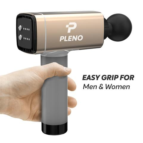 Pleno M5.2 Professional Handheld deep Tissue Massager Gun - Fitness Gear