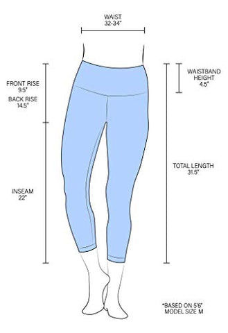 "Image of 90 Degree By Reflex High Waist Squat Proof Capris - 22"" Interlink Workout Capris - Frosted Grape - Medium - FitnessGearUSA.Com"