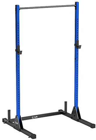 Image of CAP Barbell Power Rack Exercise Stand, Blue