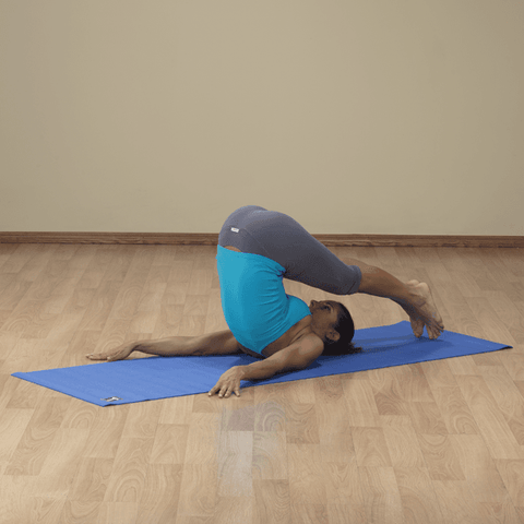 3mm Blue Body-Solid Yoga Mat - Fitness Gear