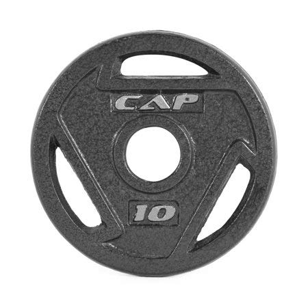 Image of CAP Barbell 2-Inch Olympic Grip Plate (10-Pound (Set of 2)) - Fitness Gear