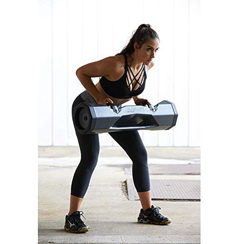 "Image of Surge Storm 40 Water Filled Adjustable Weight Tube, Home Gym Equipment, 42"" - Black/Pink - FitnessGearUSA.Com"