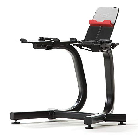 Image of Bowflex SelectTech Dumbbell Stand with Media Rack - Fitness Gear