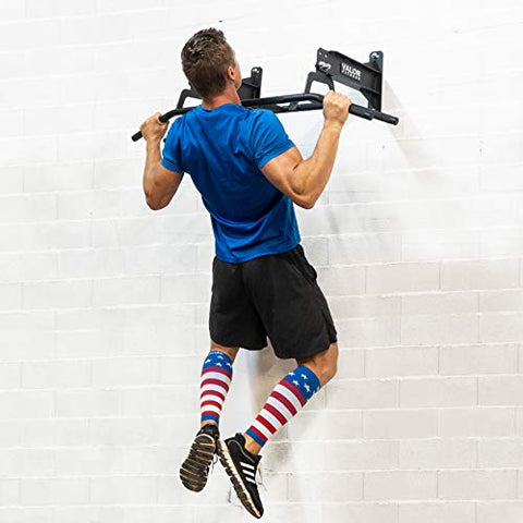Image of Valor Fitness CHN-Multi Wall/Ceiling Pull Up Bar with Multi Grip - FitnessGearUSA.Com