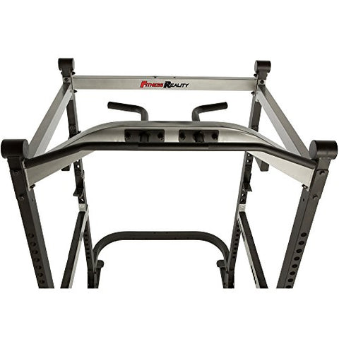 Image of Fitness Reality X-Class Light Commercial High Capacity Olympic Power Cage, Without Lat Pull-Down Attachment - FitnessGearUSA.Com