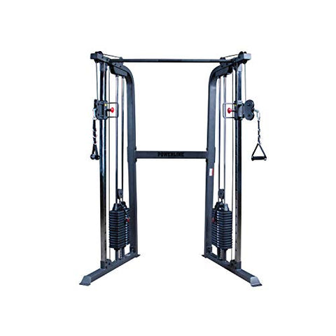 Image of Body-Solid Powerline PFT100 Functional Trainer Cable Machine, Dual 160 Lb. Weight Stacks - Fitness Gear