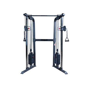 Body-Solid Powerline PFT100 Functional Trainer Cable Machine, Dual 160 Lb. Weight Stacks - Fitness Gear