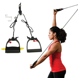 Lifeline Multi-Use Shoulder Pulley Deluxe for Assisting Rehabilitation and Increasing Flexibility - Fitness Gear