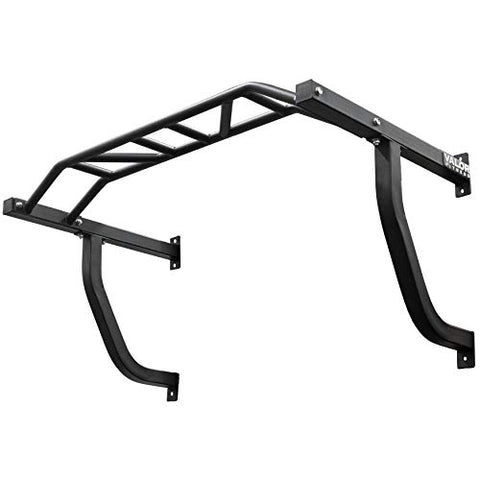 Image of Valor Fitness Wall Mounted Pull Up Bar - CHN-UP Multi Grip Wall Mounted Pullup Bar/Chin Up Bar with Multiple Grips for Multi-Functional at Home Workout - FitnessGearUSA.Com