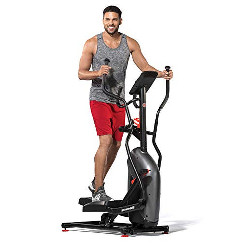 Image of Schwinn 411 Compact Elliptical Machine - FitnessGearUSA.Com