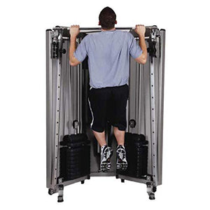 HCI Fitness PTX Gym Folding Functional Trainer Compact Home Gym - FitnessGearUSA.Com