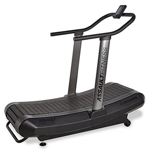 Image of Assault Fitness AirRunner, Black Frame/Charcoal - Fitness Gear