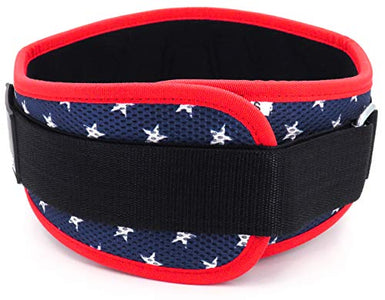 Fitplicity Weight Lifting Belt (Old Glory, Small) - Fitness Gear