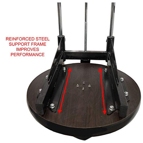 "Image of Valor Fitness CA-2 Adjustable 1"" Boxing Speed Bag Platform with Wheel Crank for Easy Adjustment, Speed Bag Included - FitnessGearUSA.Com"