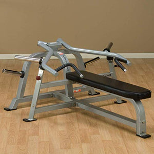 Pro Clubline by Body-Solid LVBP Adjustable Leverage Bench Press for Weightlifting, Commercial and Home Gym - FitnessGearUSA.Com