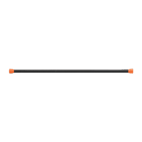 Image of 4LB Orange Padded Weighted Bar - FitnessGearUSA.Com