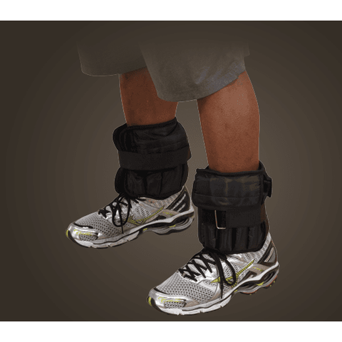 Image of 5 lb. Body-Solid Ankle Weights (pair) - Fitness Gear