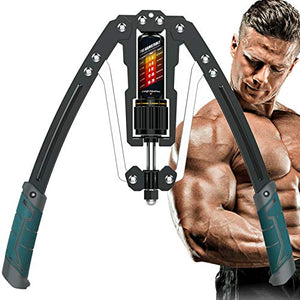 EAST MOUNT Twister Arm Exerciser - Adjustable 22-440lbs Hydraulic Power, Home Chest Expander, Shoulder Muscle Training Fitness Equipment, Arm Enhanced Exercise Strengthener. - Fitness Gear