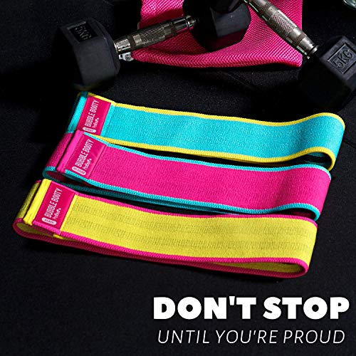 All-In-One Replaces Set Of 3 Bands BubbleBooty Adjustable Booty Band Premium