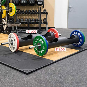 Valor Fitness OB-Log-10 Strongman Log, 10 Inch - FitnessGearUSA.Com