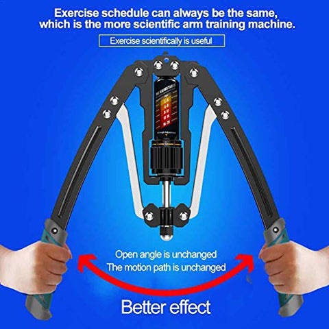 Image of EAST MOUNT Twister Arm Exerciser - Adjustable 22-440lbs Hydraulic Power, Home Chest Expander, Shoulder Muscle Training Fitness Equipment, Arm Enhanced Exercise Strengthener. - Fitness Gear