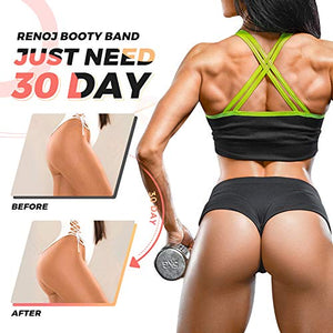 Renoj Booty Bands, Exercise Bands for Legs and Butt, Resistance Bands Set【3 Levels】 - FitnessGearUSA.Com