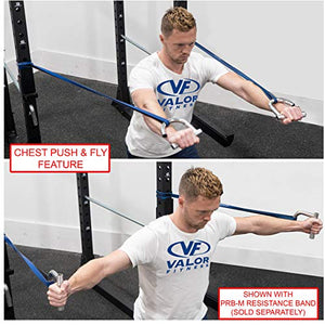 Valor Fitness MB-7 Resistance Band Handles for Resistance Band Workout Garage & Home Gym Exercise - FitnessGearUSA.Com