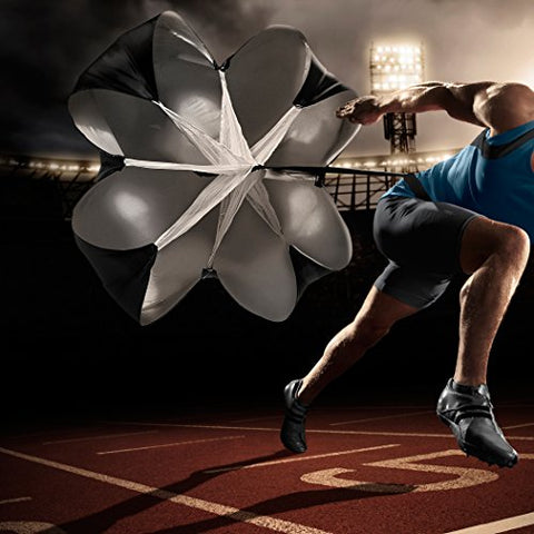 Image of TKO Resistance Sprint Trainer Running/Speed Training Parachute - Fitness Gear