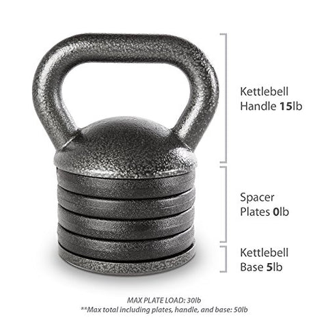 Image of Apex Adjustable Heavy-Duty Exercise Kettlebell Weight Set Strength Training and Weightlifting Equipment for Home Gyms APKB-5009 - FitnessGearUSA.Com