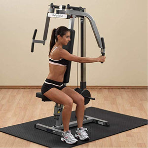 Body-Solid GPM65 Plate Loaded Pec Machine for Chest, Back, and Shoulder Training and Workouts - Fitness Gear