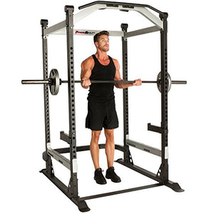 Fitness Reality X-Class Light Commercial High Capacity Olympic Power Cage, Without Lat Pull-Down Attachment - Fitness Gear