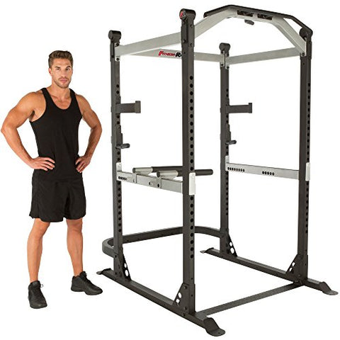 Image of Fitness Reality X-Class Light Commercial High Capacity Olympic Power Cage, Without Lat Pull-Down Attachment - Fitness Gear