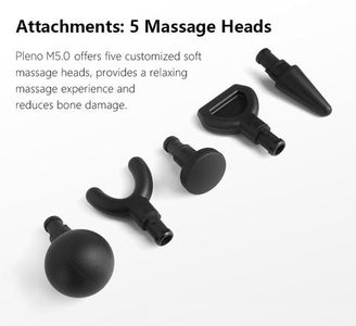 Pleno M5.0 Handheld Massager 30-day Money Back Guarantee - Fitness Gear