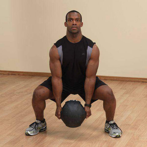 Image of 6lb. Dual Grip Medicine Ball - Fitness Gear