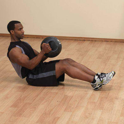 Image of 8lb. Dual Grip Medicine Ball - Fitness Gear
