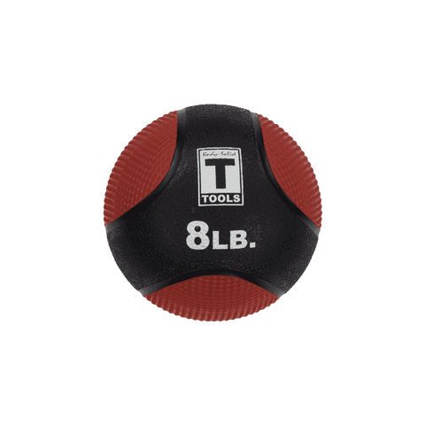 Image of 8lb. Medicine Ball - Red/Black - Fitness Gear