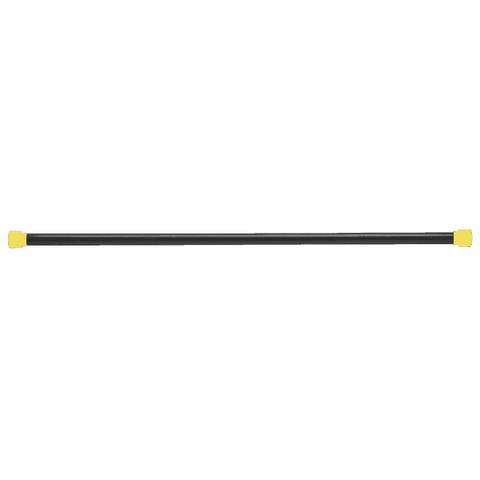 9LB Yellow Padded Weighted Bar - Fitness Gear