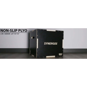 SYNERGEE NON-SLIP 3-IN-1 WOOD PLYO BOXES - Fitness Gear