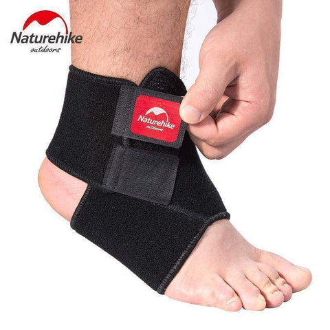 Black Adjustable Ankle Support Pad Protection 1 pc - Fitness Gear