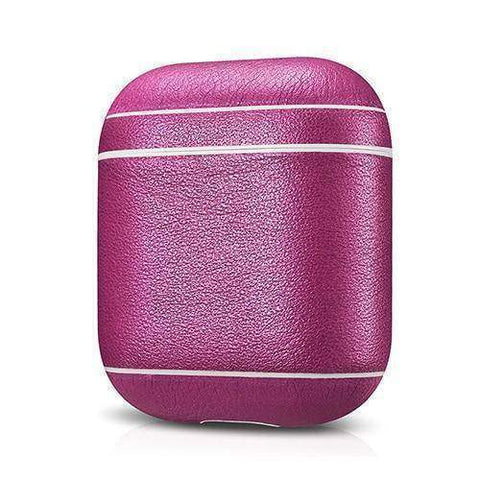 Leather Earphone Case For Apple Airpods - Dust-proof Protective Cover - Fitness Gear